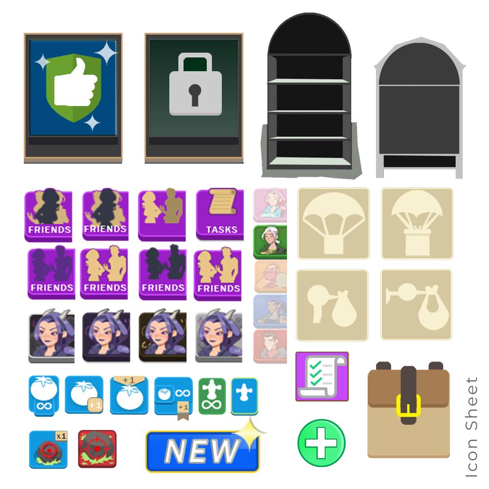 Idle-Harvest Icons